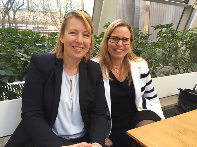 Malin Rosqvist & Eva Petursson