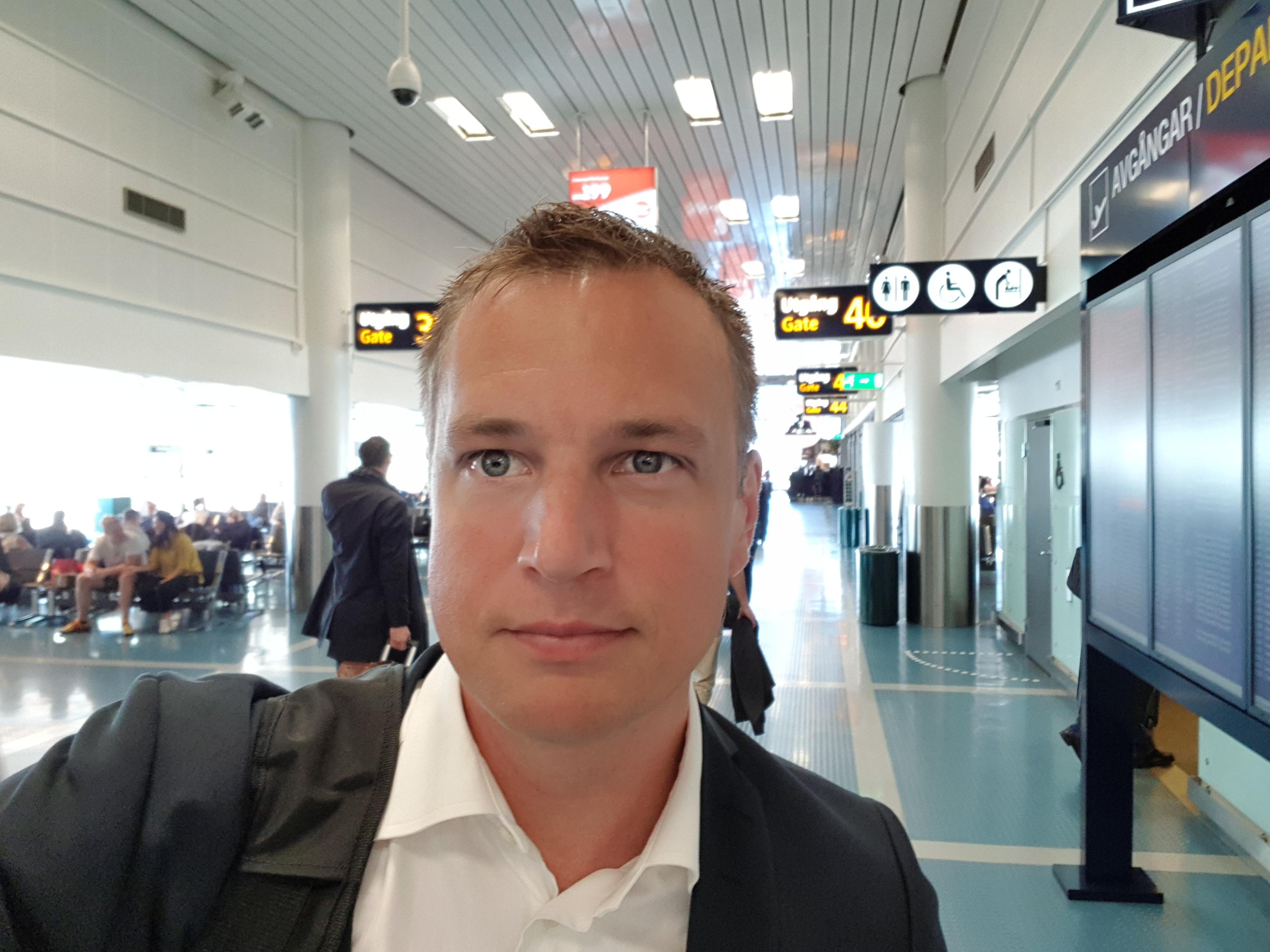 Peter på Arlanda