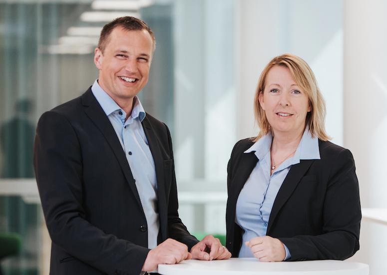 PiiAs programchef Peter Wallin och programstrateg Malin Rosqvist.