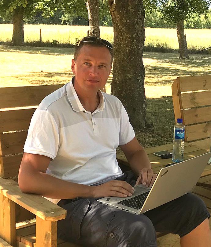 Peter Wallin i Almedalen