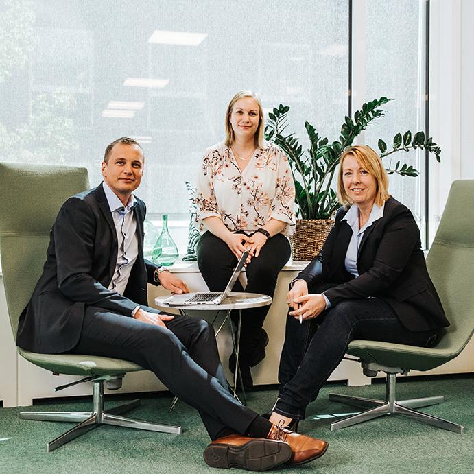 Programkontoret: Peter Wallin, Linnéa Svenman Wiker, Malin Rosqvist