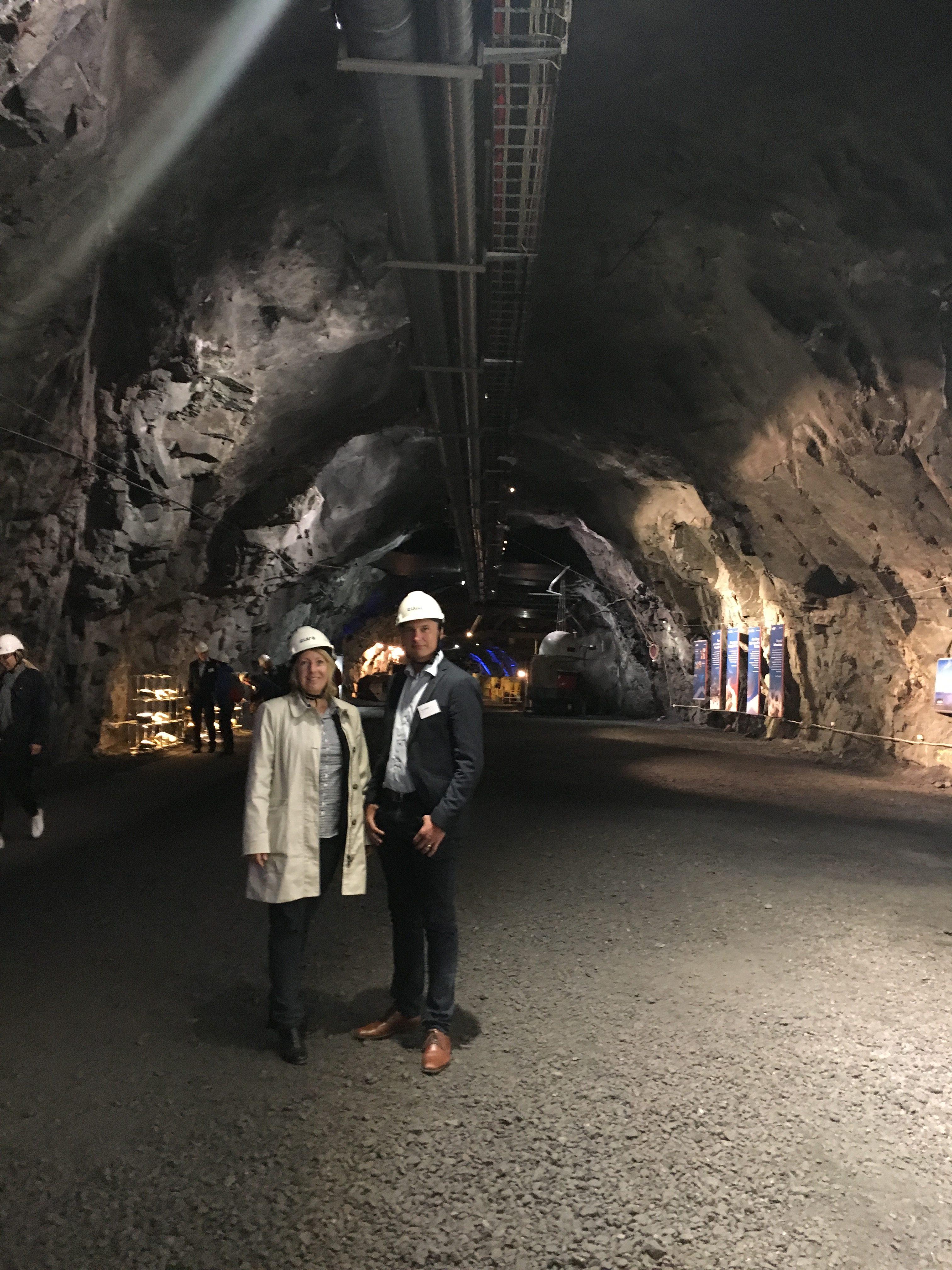 Malin Rosqvist och Peter Wallin på djupet av svensk industri