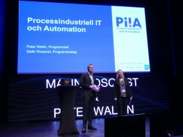 PiiA Summit, Peter & Malin på scenen