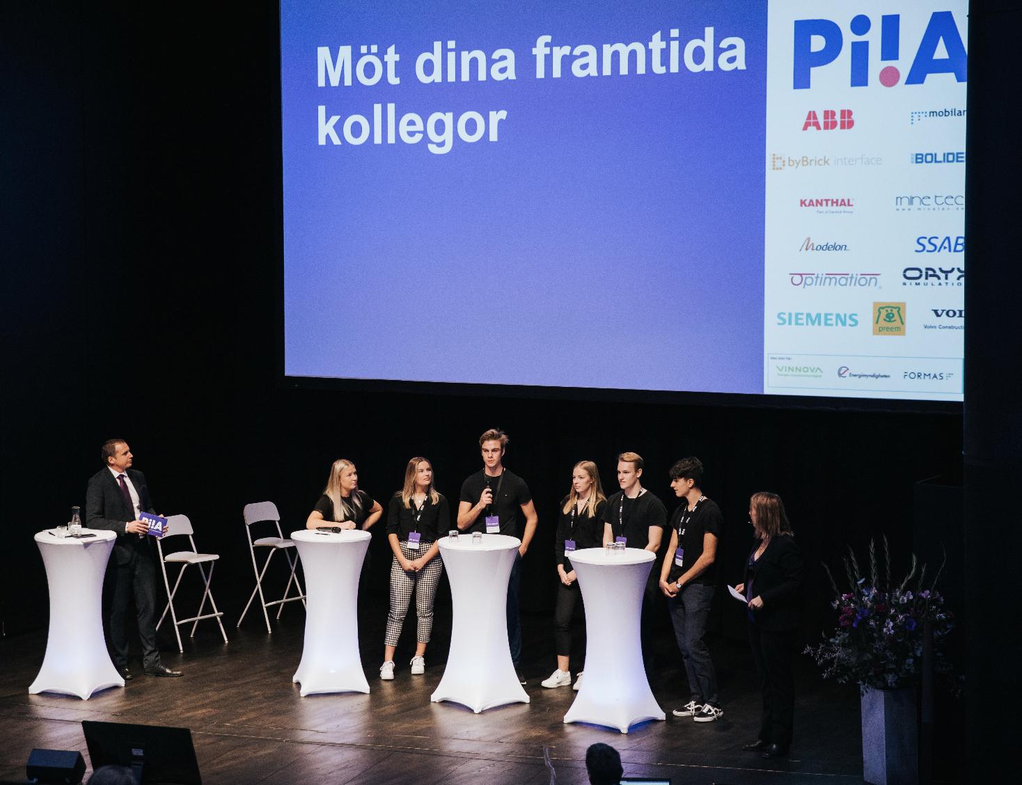 Peter Wallin, Malin Rosqvist och UF-företag på PiiA Summit