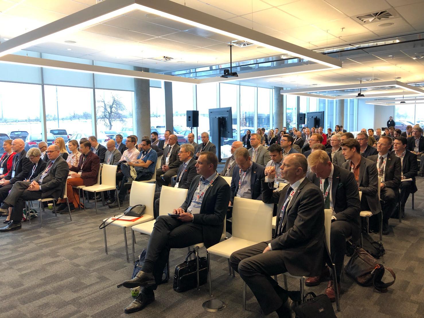 Deltagare på Sweden Canada Innovation Initiative