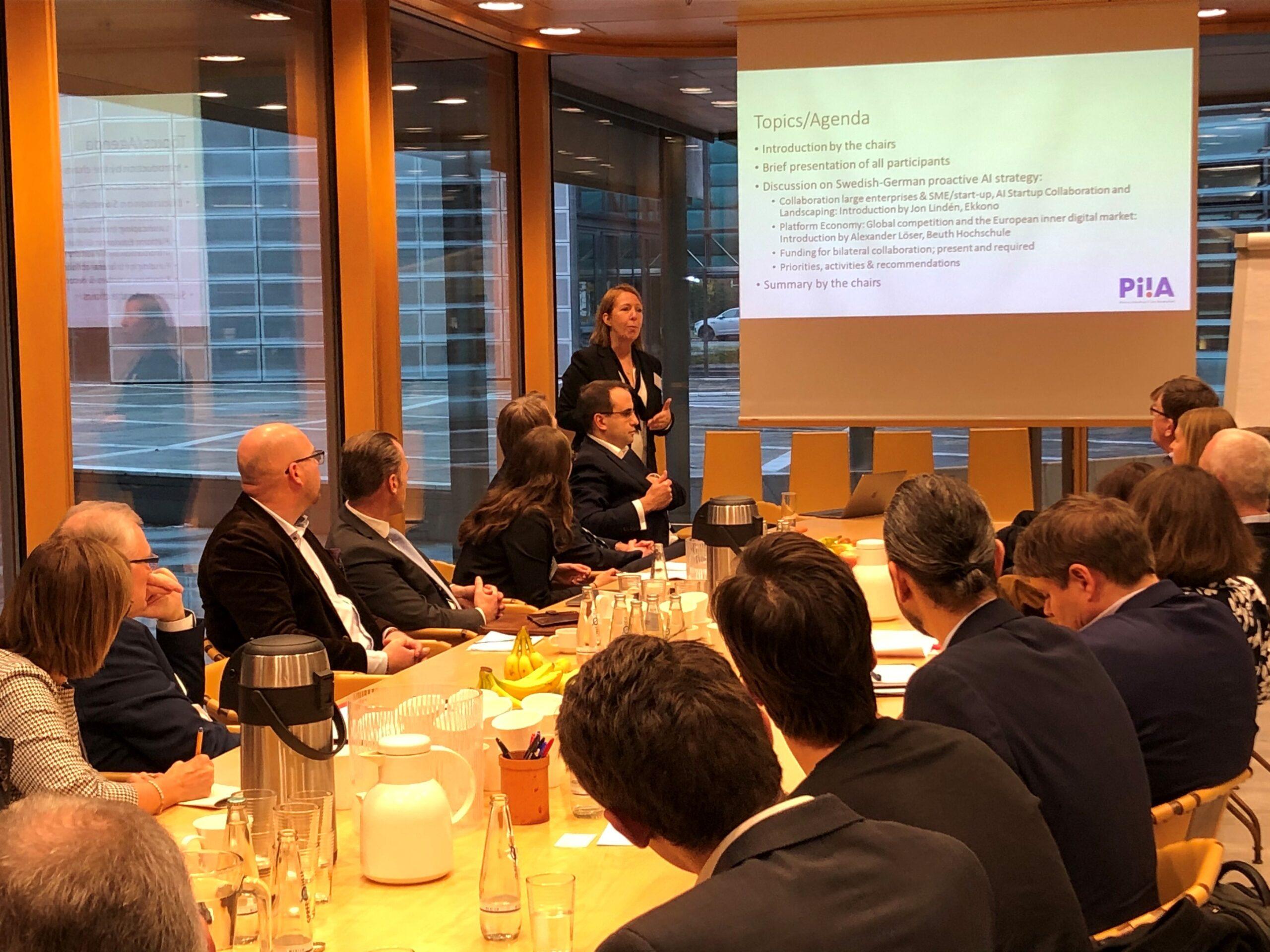 Diskussioner i Berlin