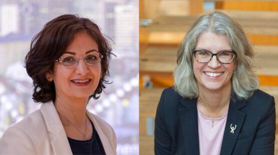 Azimeh Sefidcon & Helena Thelin